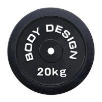 ラバープレート 20kg(2枚セット)
