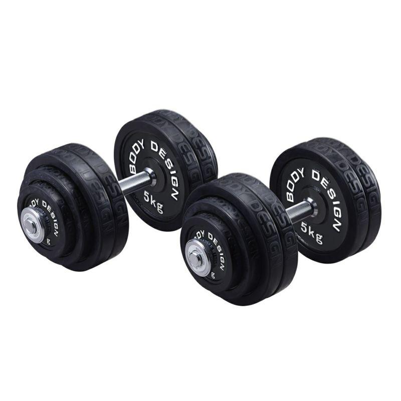 ラバーダンベルセット 60kg