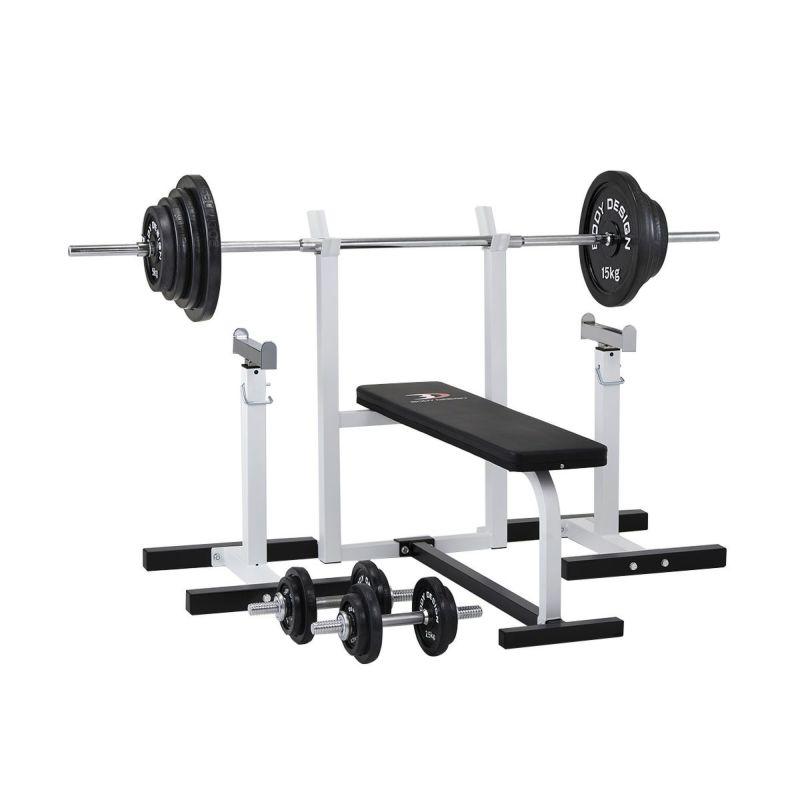 セーフティパックⅠ/ ラバーバーベル100kgセット